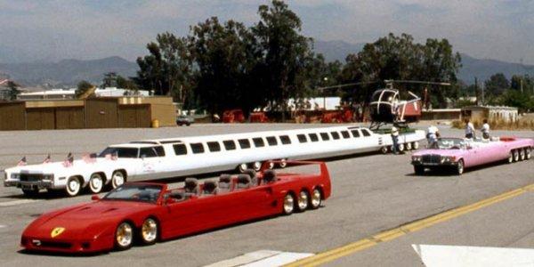 Как выглядит самый длинный автомобиль в мире
