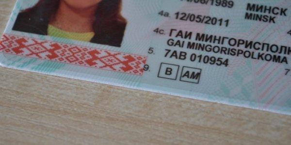 Какие бывают водительские права в Беларуси 2021. Категории управления